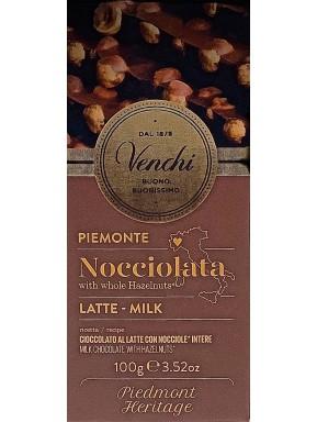 Venchi -Milk and Hazelnut - 100g
