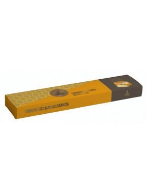(3 CONFEZIONI X 150g) Fiasconaro - Torrone Tenero Ricoperto di Cioccolato all'Arancia