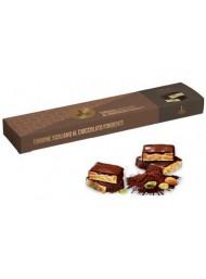 (3 PACKS X 150g) Fiasconaro - Dark Chocolate - Soft Nougat Covered