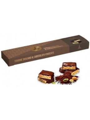(3 CONFEZIONI X 150g) Fiasconaro - Cioccolato Fondente - Torrone Tenero Ricoperto