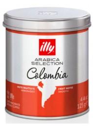 ILLY - MONOARABICA COLOMBIA - CAFFE' MOKA MACINATO - 125g