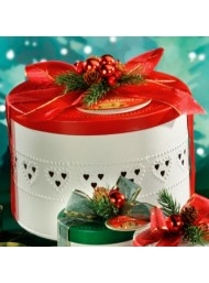 Flamigni - Panettone Classic - Drilled Metal Hatboxes - 750g