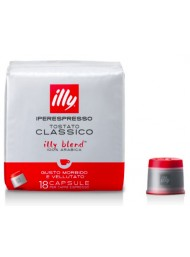 Illy Red - 18 Capsule - Classic Roast