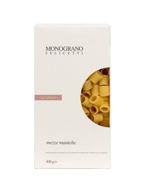 (3 PACKS X 500g) Felicetti - Mezze Maniche - MONOGRANO - IL CAPPELLI