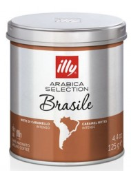 ILLY - MONOARABICA BRASILE - CAFFE' MOKA MACINATO - 125g