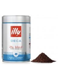(6 CONFEZIONI X 250g) ILLY - Caffè Macinato Espresso Decaffeinato