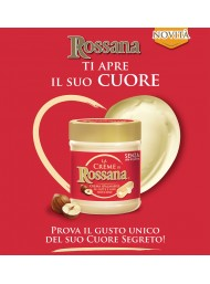(3 PACKS X 200g) Rossana - Spread cream with milk and hazelnuts