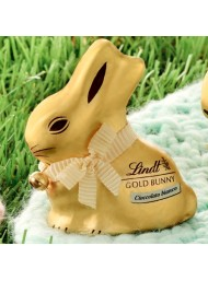 6 Gold Bunny x 100g - White Chocolate