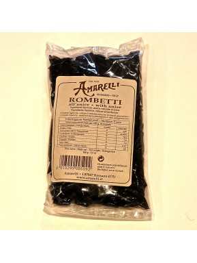 Liquirice Amarelli - Rombetti with anise 100g