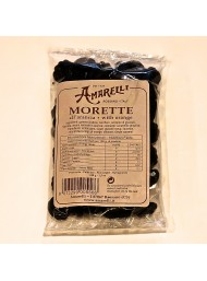 (5 PACKS X 100g) Liquirice Amarelli - Morette with orange