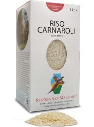 (3 CONFEZIONI X 1000g) Riserva San Massimo - Riso Carnaroli Superfino