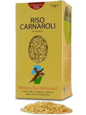 (3 CONFEZIONI X 1000g) Riserva San Massimo - Riso Carnaroli Integrale