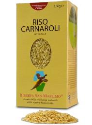 (6 PACKS X 1000g) Riserva San Massimo - Whole Wheat Carnaroli Rice