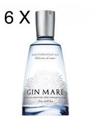 (6 BOTTLES) Gin Mare - Mediterranean Gin - Colecciòn de Autor - 70cl.