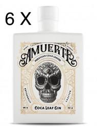(6 BOTTIGLIE) Amuerte - Peruvian Coca Leaf Gin - White Edition - 70cl