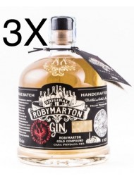 (3 BOTTLES) Roby Marton - Italian Premium Dry Gin - 70cl
