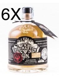 (6 BOTTLES) Roby Marton - Italian Premium Dry Gin - 70cl
