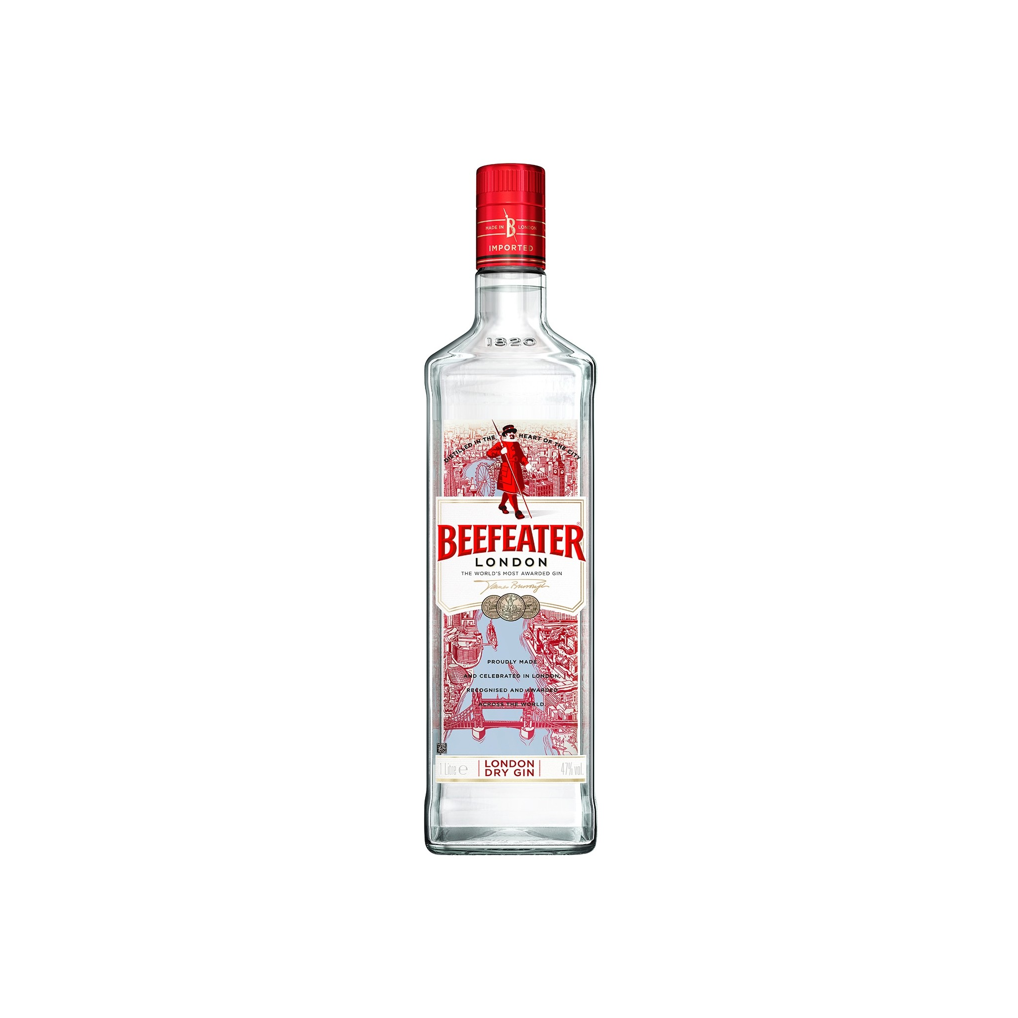 Single Beefeater Gin Balloon Glass 70cl Brand New 100/% Genuine Official