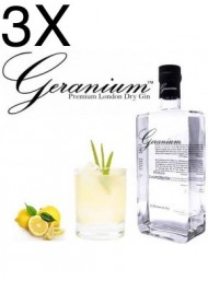 (3 BOTTLES) Hammer and Son - Geranium - Gin - 70cl