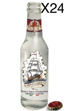 24 BOTTLES - Abbondio - Mediterranean Tonic Water - 20cl