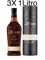 (3 BOTTLES) Zacapa - Solera Gran Reserva - 23 years - 100cl