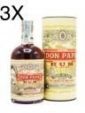 (3 BOTTIGLIE) Rum Don Papa - Astucciato - 70cl