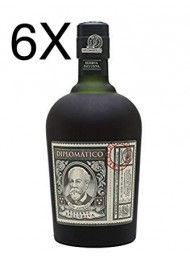 (6 BOTTLES) Diplomatico - Reserva Exlusiva - Ron Antiguo Venezuelano - 12 years - 70cl