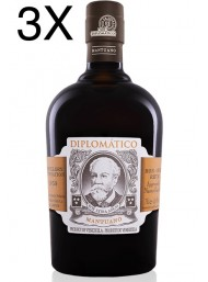(3 BOTTLES) Diplomatico - Mantuano - Rum - 8 years - 70cl