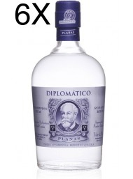 (6 BOTTLES) Diplomatico - Planas - White Rum - 6 Years - 70cl