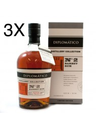 (3 BOTTLES) Diplomatico - N. 2 - Barbet Rum - Limited Edition - 70cl