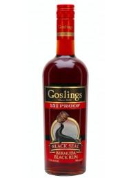 Goslings - 151 Proof - Black Seal - Bermuda Rum - 70cl