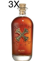 (3 BOTTLES) Bumbu Rum - The Original - 70cl