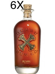 (6 BOTTLES) Bumbu Rum - The Original - 70cl