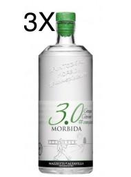 (3 BOTTIGLIE) Mazzetti d'Altavilla - 3.0 Grappa Morbida - 70cl