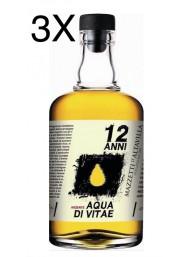(3 BOTTIGLIE) Mazzetti d'Altavilla - Arzente - Acquavite di Vino - 12 anni - 70cl