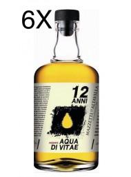 (6 BOTTIGLIE) Mazzetti d'Altavilla - Arzente - Acquavite di Vino - 12 anni - 70cl