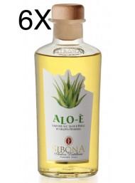 (6 BOTTLES) Sibona - Grappa Alo-è - Aloe and Honey - 50cl