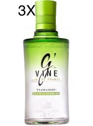 (3 BOTTLES) G' Vine - Floraison Gin - 70cl