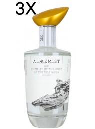 (3 BOTTLES) Alkkemist - Handmade Gin - 70cl