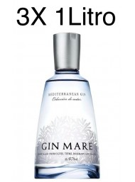 (3 BOTTLES) Gin Mare - Mediterranean Gin - Colecciòn de Autor - 100cl.