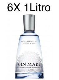 (6 BOTTIGLIE) Gin Mare - Mediterranean Gin - Colecciòn de Autor - 100cl - 1 Litro