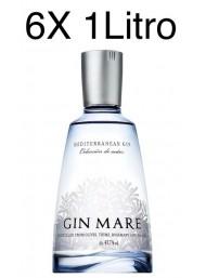 (6 BOTTLES) Gin Mare - Mediterranean Gin - Colecciòn de Autor - 100cl.