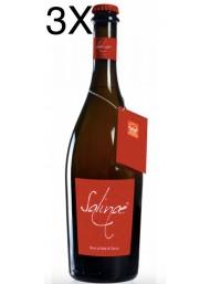 (3 BOTTIGLIE) Salinae - Birra Ambrata Doppio Malto al Sale di Cervia - 75cl