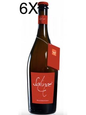 (6 BOTTIGLIE) Salinae - Birra Ambrata Doppio Malto al Sale di Cervia - 75cl