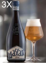 (3 BOTTLES) Baladin - Wayan - Saison Beer - 75cl