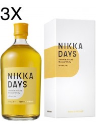 (3 BOTTLES) Nikka - Days - Smooth & Delicate Blended Whisky - 70cl