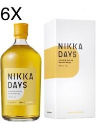 (6 BOTTIGLIE) Nikka - Days - Smooth & Delicate Blended Whisky - 70cl - Astucciato