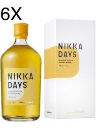 (6 BOTTLES) Nikka - Days - Smooth & Delicate Blended Whisky - 70cl