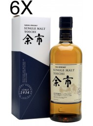 (6 BOTTLES) Nikka - Yoichi - Single Malt Whisky - 70cl