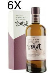 (6 BOTTLES) Nikka - Single Malt Miyagikyo - No age - 70cl